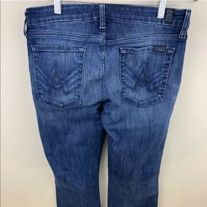 7 SEVEN FOR ALL MANKIND Jeans A Pocket Boot Cut